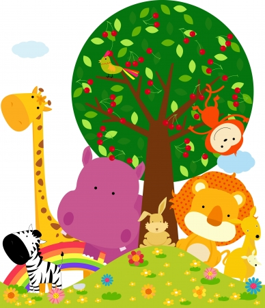 animal frame: animal  Illustration