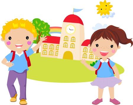 school house: Ni�o Ni�a