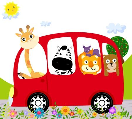 동물 버스