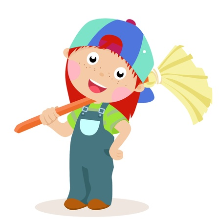 cute little girl Stock Vector - 15107873