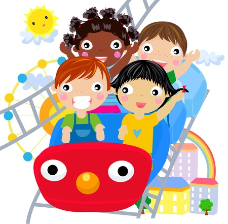 coaster: play time  Illustration