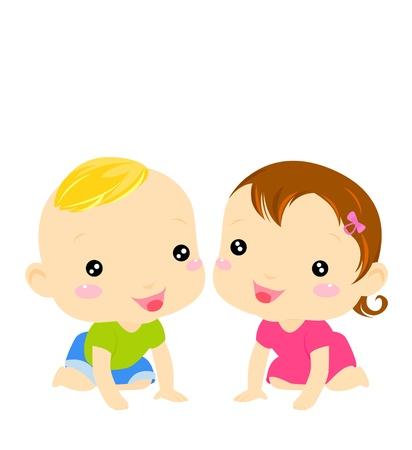 creeps: beb� ni�o y ni�a
