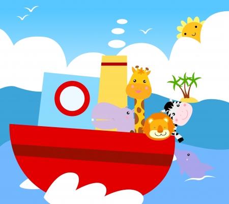 animal ship