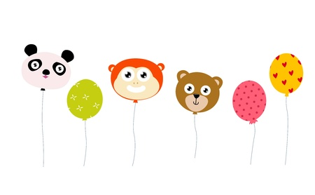 animal balloon  Vector