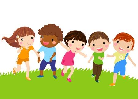 kid's: Running kids