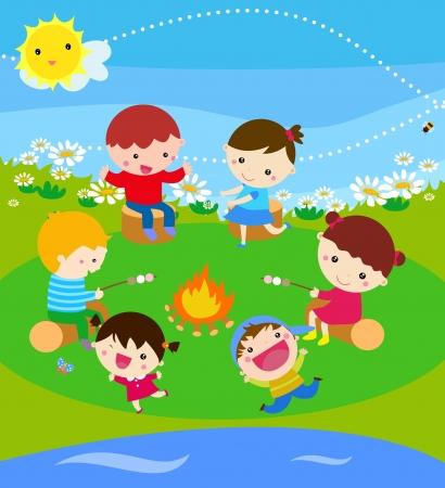 campamento de verano: Campamento