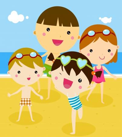 enfant maillot de bain: Summer Kids