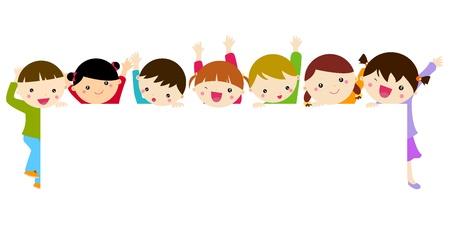 trẻ em: Dễ thương trẻ em phim hoạt hình khung