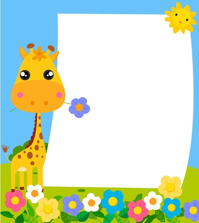 giraffe  Stock Vector - 16041900