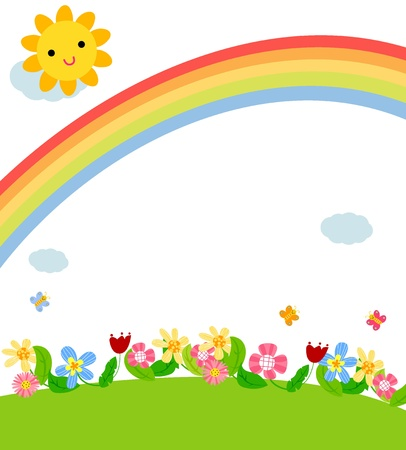 flore: spring card