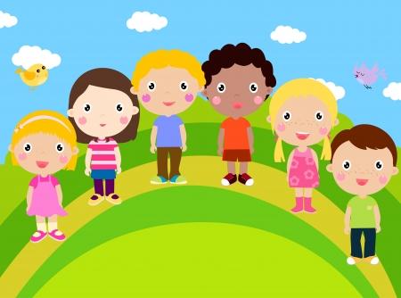 nursery school: kids