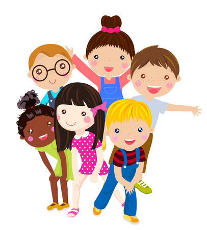 Happy children Illustration