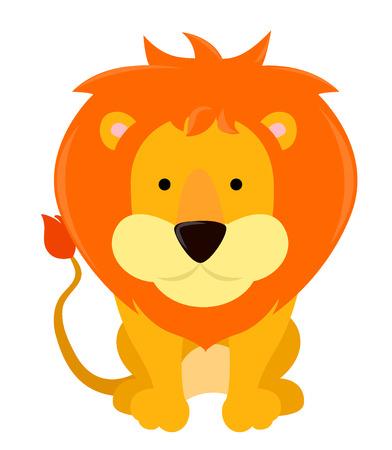 lion cartoon Stock Vector - 25493367