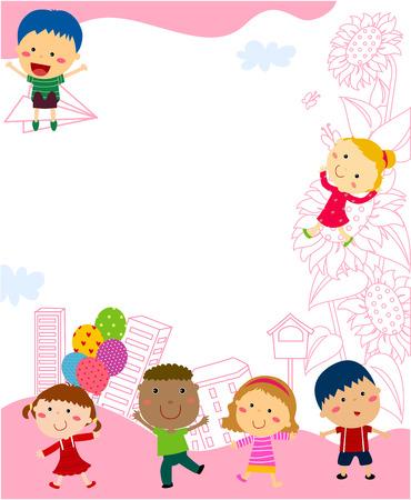 playtime: Kids and frame