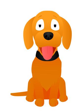 cute dog: cute dog Illustration