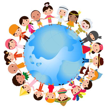 Monde des enfants  Banque d'images - 31057497