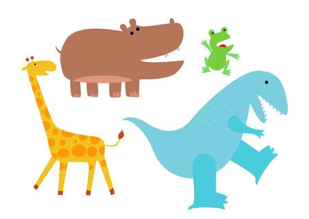 tyrannosaurs: Animals set