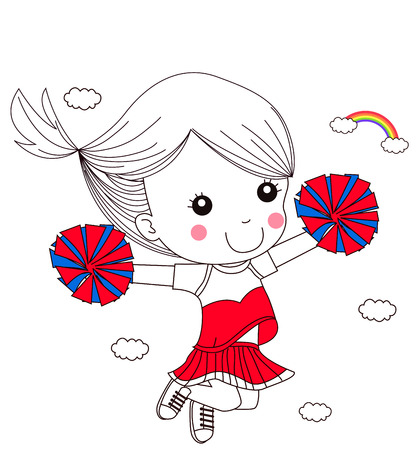 pom pom: cheerleader
