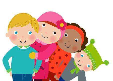 neckscarf: Winter kids