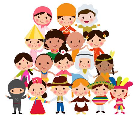 Monde des enfants  Vecteurs