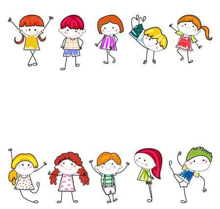 animated boy: Happy Kids
