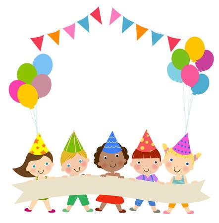 어린이 생일 파티 그룹