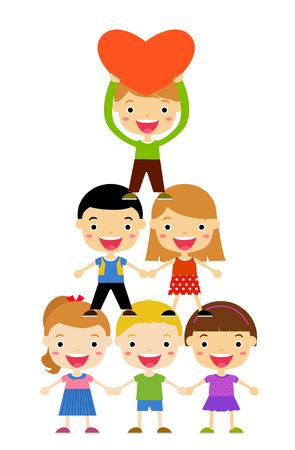 asian friends: Kids