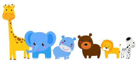 animales del bosque: Conjunto de animales
