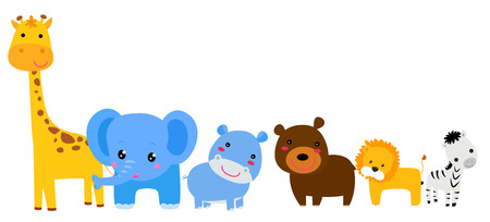forest animals: Set of animals