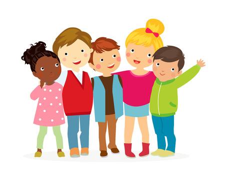 niño preescolar: niñas y niños