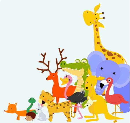 jungle animals: Animals