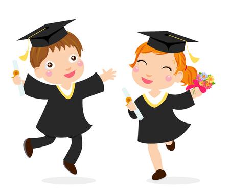 소년과 소녀 졸업생