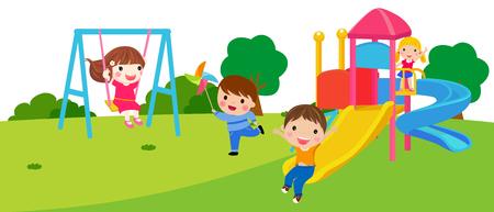 escuela infantil: Grupo de niños