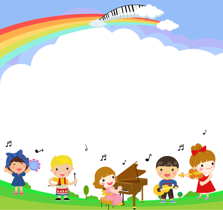 Kids and music.