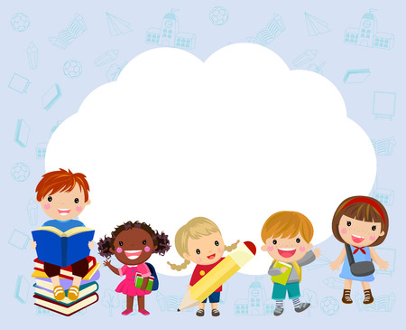 Children with cloud copyspace