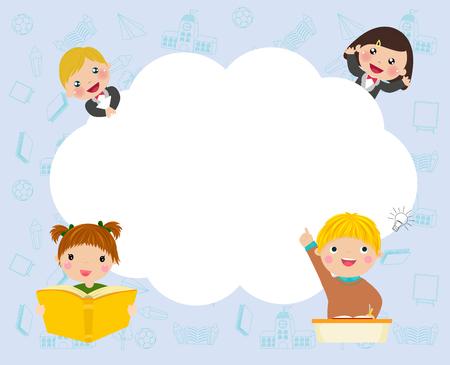 Children with cloud copyspace