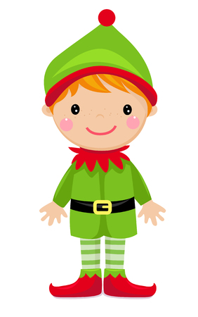 Cartoon elf Illustration