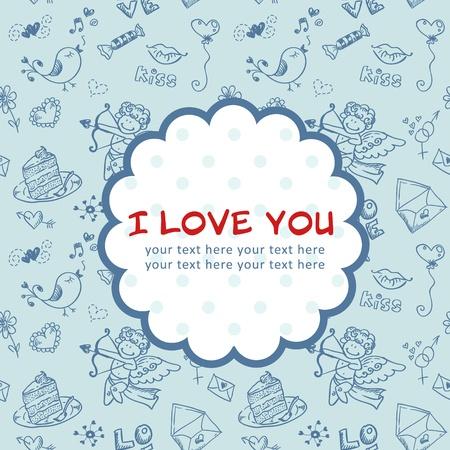 Doodle Valentine Stock Vector - 11862324