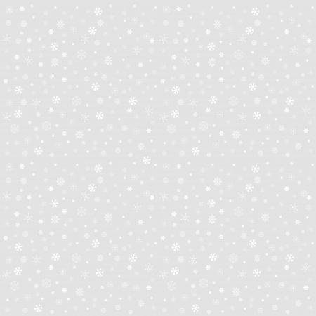 Decorativo invierno Navidad sin fisuras textura con diferentes copos de nieve de la l�nea de arte