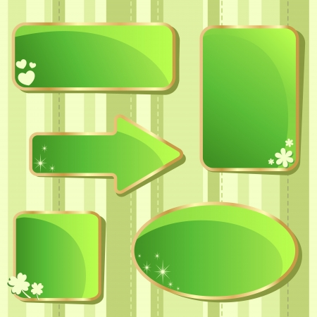 Emerald Saint Patrick Stock Vector - 17550684