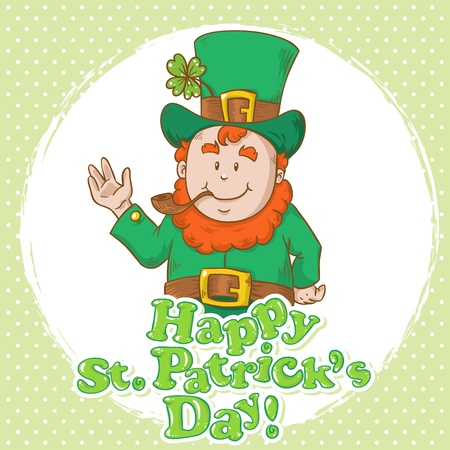 Cute Saint Patrick Vector
