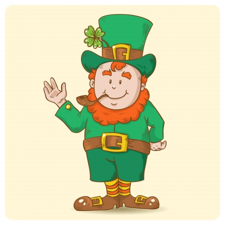 Cute Saint Patrick Stock Vector - 17550694