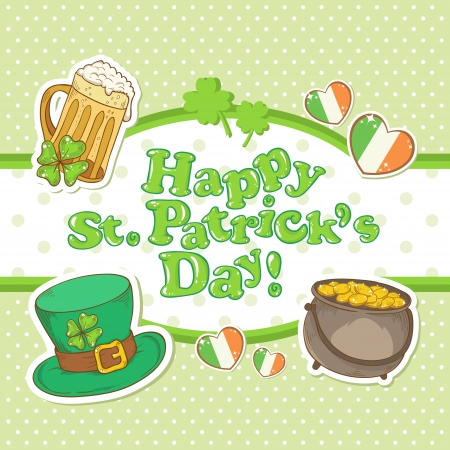 Saint Patrick Stock Vector - 17550716