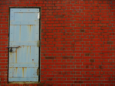closed door 写真素材