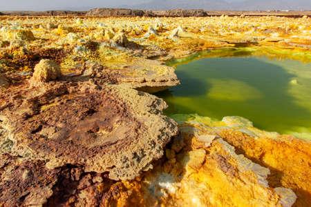 The Unearthly Scenery of Dallol, Danakil Depression, Ethiopia