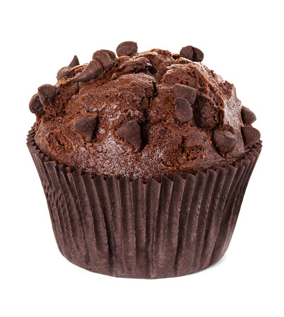 cupcakes isolated: muffin chocolate
