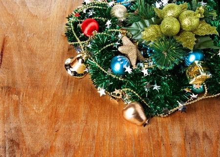 Christmas composition, decoration, photo