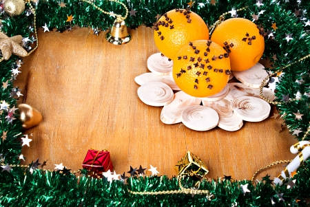 Christmas composition, decoration, photo