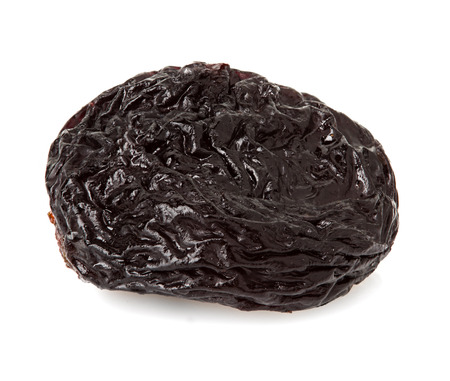raisin isolated on white  photo