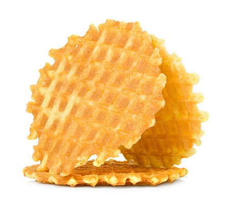liege: Liege waffles isolated